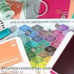 The Color Coordinator helps you to come up with new and fresh color combinations for your Stampin' Up! projects. Simply start with a color and see what's surrounding it to find new inspiration every time you craft! Click through for the freebie download or to purchase printed copies! #color #colorcombo #stampinup #nicolewatt #pmretreat
