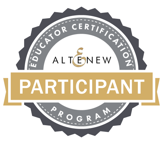 Altenew Educator Certification Program Participant Badge