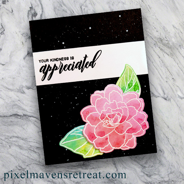 For On the CASE with Ann & Nicole (January 2019). Featuring, Oh, Hello turnabout (Concord & 9th), and Heat Embossing. For more details including step-by-step instructions for CASE-ing this card , click through. #pmretreat #concordand9th #hello #handstamped