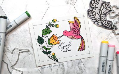 On the CASE: Quick Colored Hummingbird