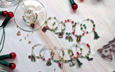 12 Days: Shrink Plastic Wine Glass Charms (and Giveaway!)