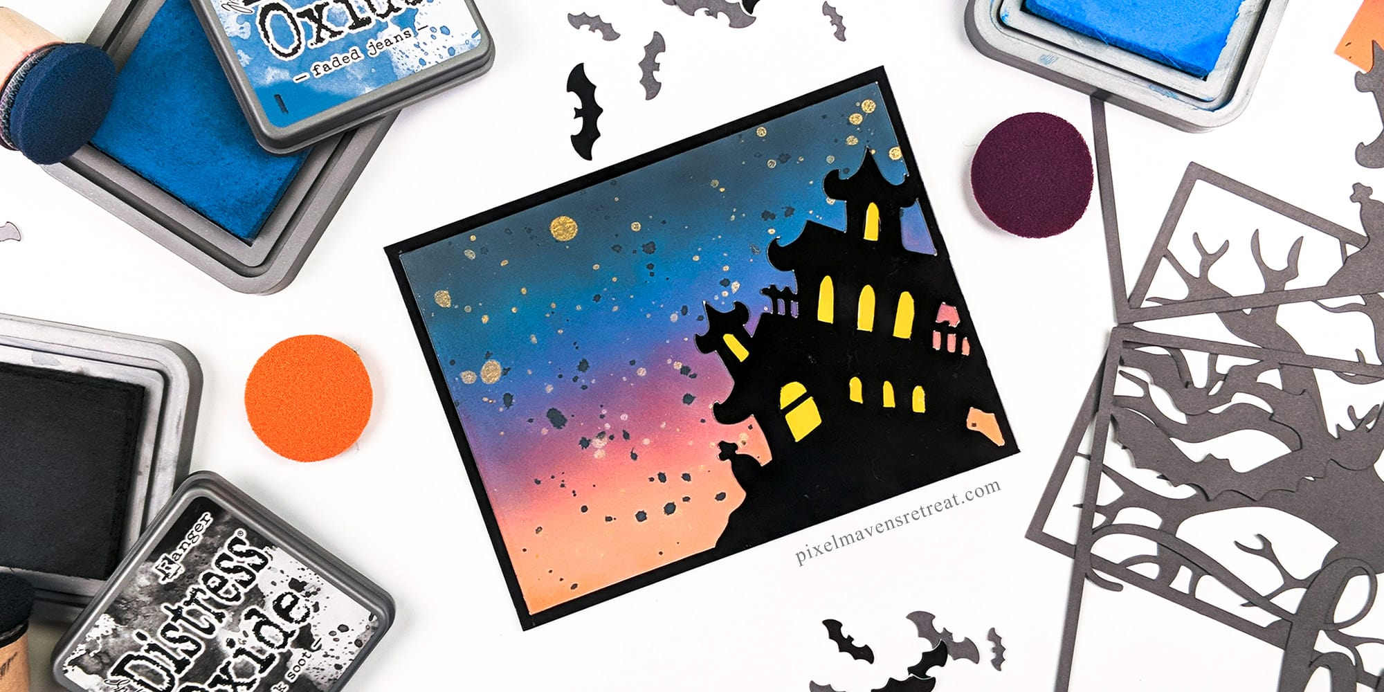 Halloween Distress Oxide Blends #4