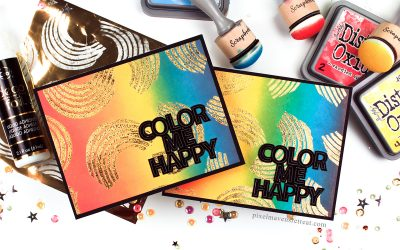 Foiled Rainbows will Color You Happy!