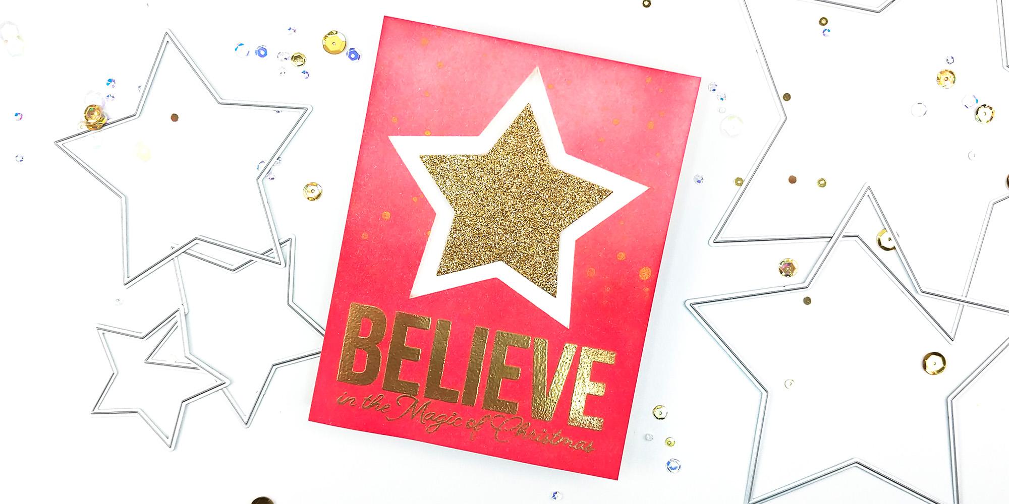A Handmade Holiday Parade: Holiday Cards with Scrapbook.com