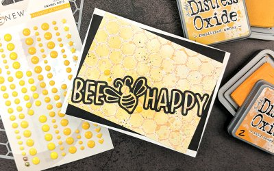 Bee Happy Feat. Scrapbook.com Be Mine Cut File