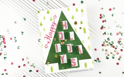 Peek-a-Boo Holidays feat. Scrapbook.com Advent Cutfile