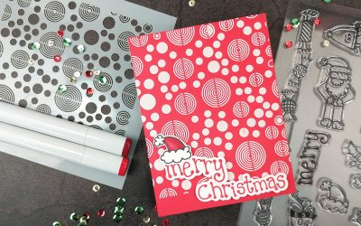 Mod Peppermint Inspired Christmas for Hedgehog Hollow