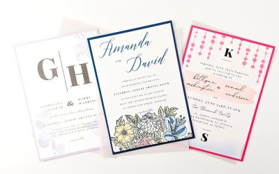 On-trend DIY Wedding Invitations