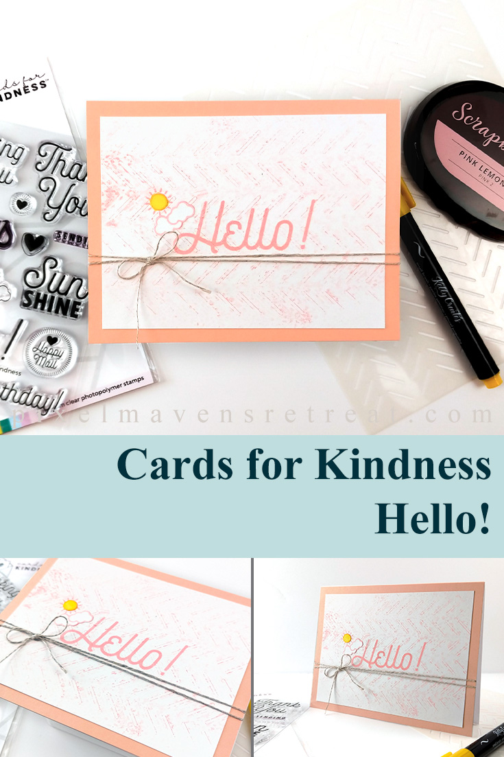 Say Hello to Scrapbook.com's Cards for Kindnes