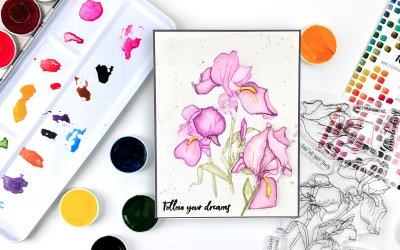 Altenew Paint-A-Flower: Iris Release Blog Hop + Giveaway