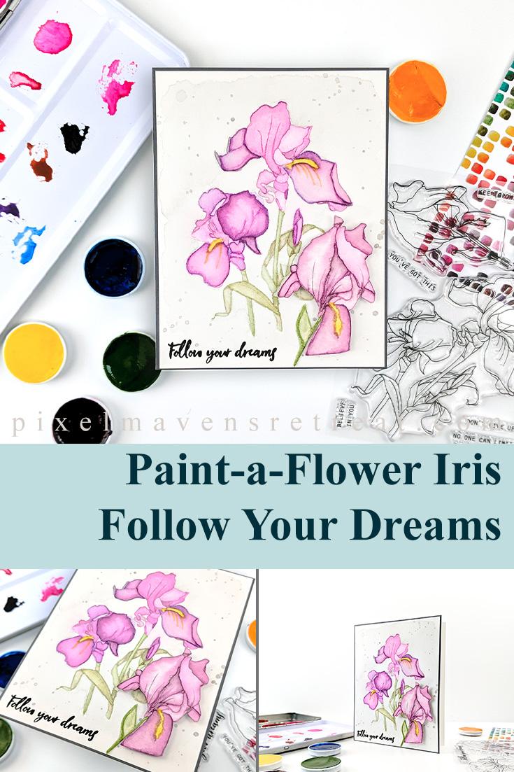 Altenew Paint-A-Flower: Iris Release Blog Hop + Giveaway