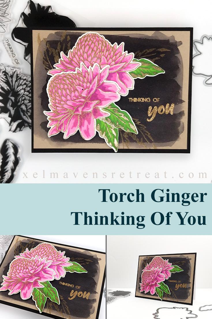 Altenew Build-A-Flower: Torch Ginger Release Blog Hop + Giveaway