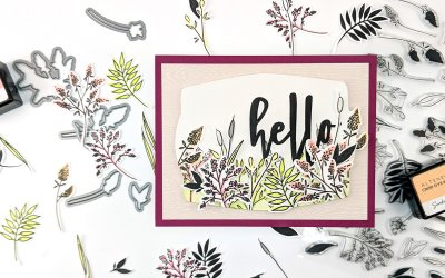 Altenew March 2020 Stamp/Die/Stencil Release Blog Hop + Giveaway