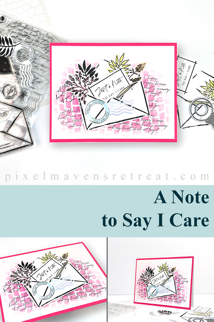 A Note to Say I Care for Tic Tac Toe Challenge (TTTC061)