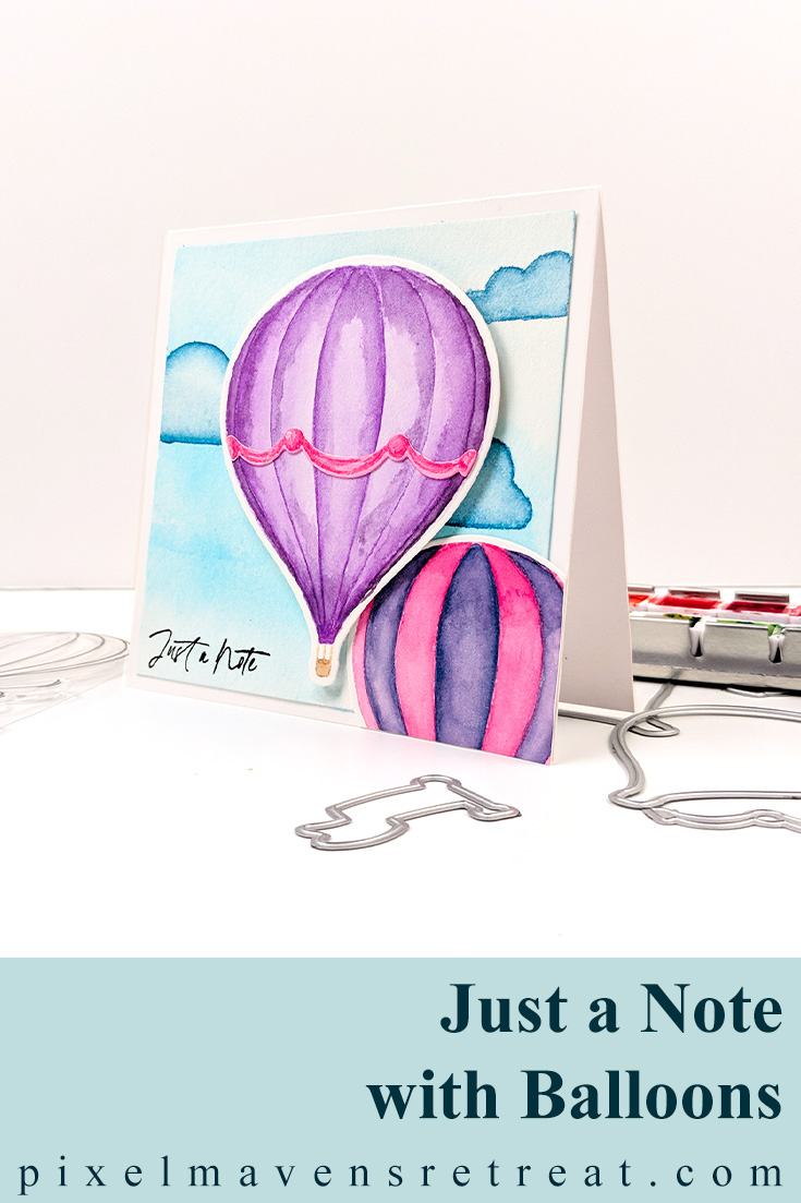 Watercolor Balloons for Tic Tac Toe Challenge (TTTC65)