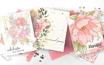 "Altenew + Pinkfresh Studio ""Celebrate"" Collaboration Blog Hop Details + Giveaway"