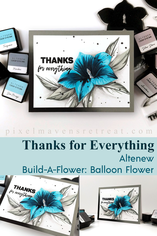 Altenew Build-A-Flower: Balloon Flower Release Blog Hop + Giveaway