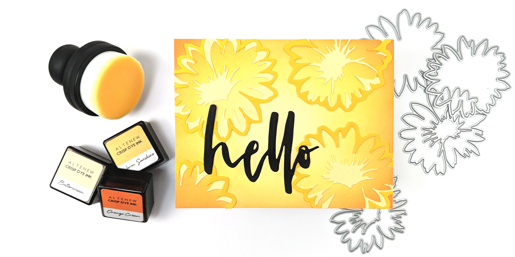 Altenew Craft-A-Flower: Daisy Release