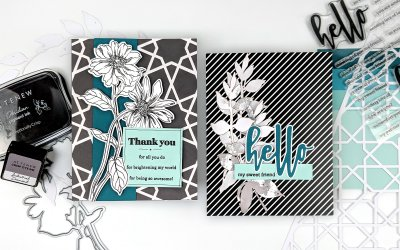 Bold Card Designs that aren't Overdone | Sketch Starters #011 + Winner + New challenge