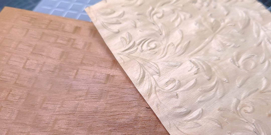 How To Emboss a Wood Sheet